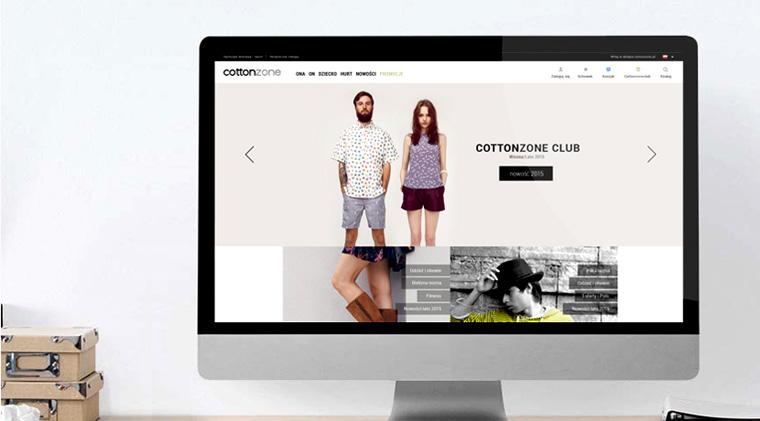 cottonzone.pl - sklep z odzieżą