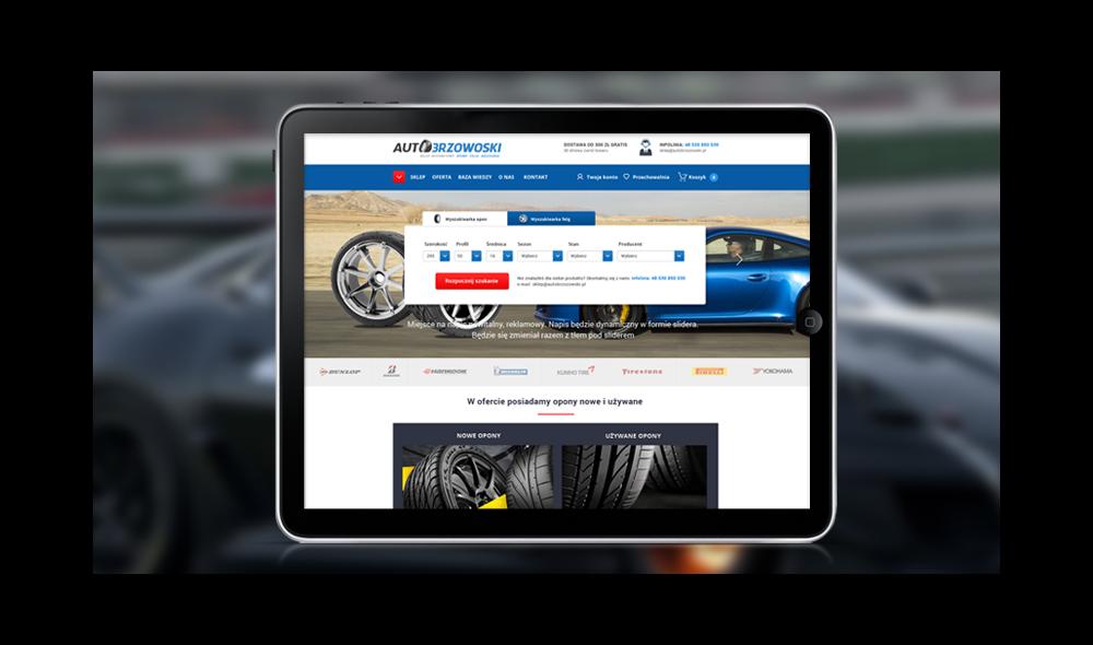Autobrzozowski - sklep internetowy z oponami i felgami